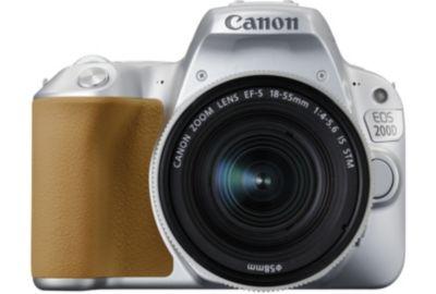 Reflex CANON EOS 200D silver + 18-55mm IS
