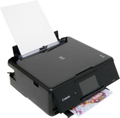 Imprimante jet d'encre Canon TS 8150 Noir + Cartouche d'encre Canon CLI581 (N/C/M/J)