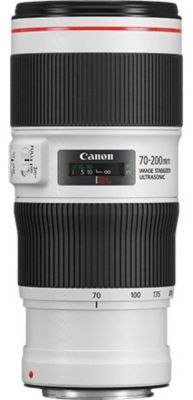 Objectif pour Reflex Plein Format Canon EF 70-200mm f/4 L IS...