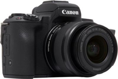 Appareil Photo hybride canon eos m50 noir + 15-45mm