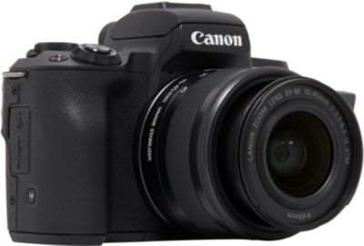 APN CANON EOS M50 Noir + 15-45mm