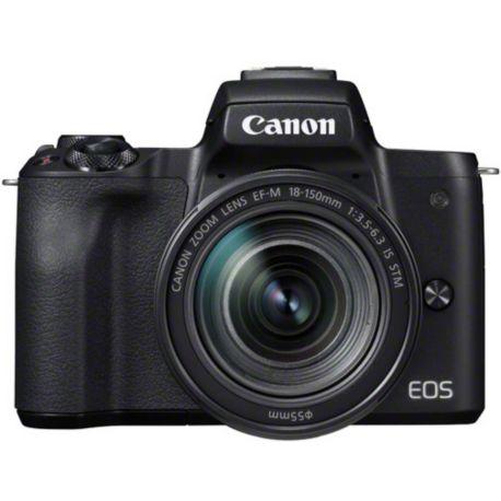 Appareil photo numérique CANON EOS M50 Noir + 18-150mm