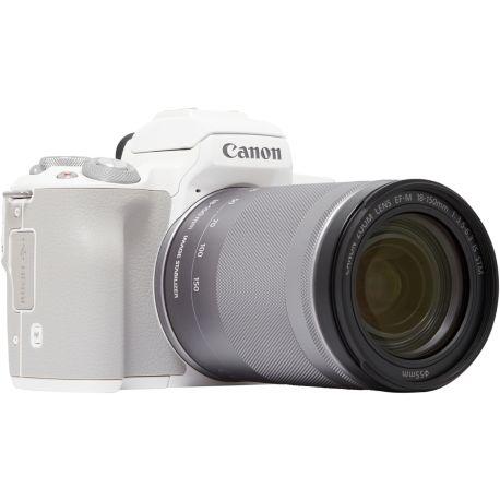 Appareil photo numérique CANON EOS M50 Blanc + 18-150mm