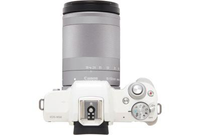 APN CANON EOS M50 Blanc + 18-150mm