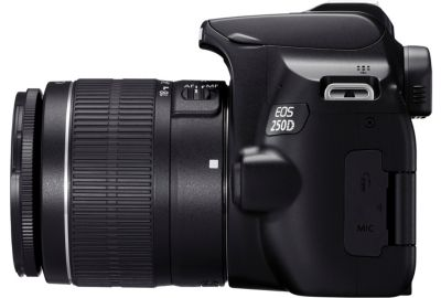 Reflex CANON EOS 250D Noir 18-55 IS STM