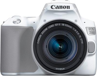 Appareil photo Reflex Canon EOS 250D Blanc 18-55 IS STM