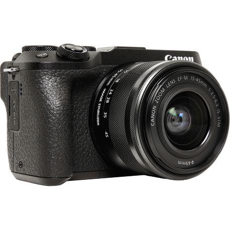 Appareil photo numérique CANON EOS M6 Mark II+ EF-M 15-45 + EVF