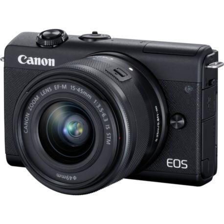 Appareil photo numérique CANON EOS M200 Noir + EF-M 15-45mm IS STM