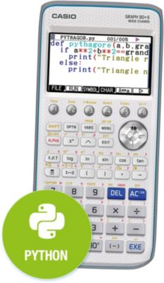 Calculatrice graphique Casio Graph 90+E
