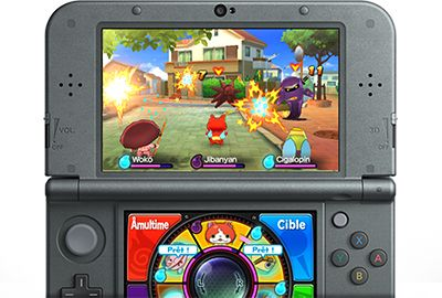 nintendo yo kai watch jeux 3ds 2ds boulanger. Black Bedroom Furniture Sets. Home Design Ideas