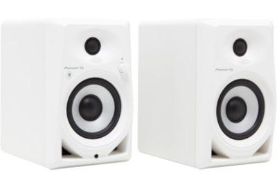 Enceinte PIONEER DJ DM-40BT-W blanc X2