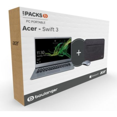 Portable ACER Pack Swift SF314 + pochette + souris
