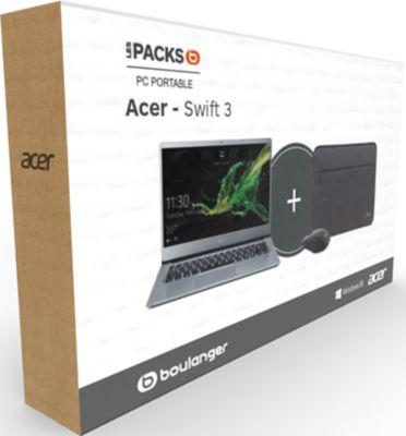 Ordinateur portable Acer Pack Swift SF314-41-R4W6 Gris