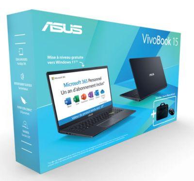 Ordinateur portable Asus E510MA EJ355TS Souris Office365Perso