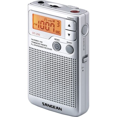Radio SANGEAN POCKET 250 argent