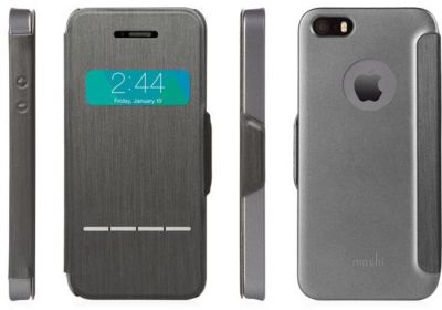 moshi iphone 5s se sensecover noir accessoire iphone. Black Bedroom Furniture Sets. Home Design Ideas