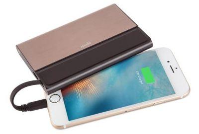 PowerBank MOSHI 5150mAh Bronze-USB+cable lighthning