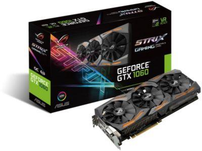 Carte graphique Nvidia Asus ROG STRIX-GTX1060-O6G-GAMING