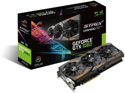 Carte Graphique nvidia asus geforce gtx 1060 rog strix-Gaming-6g