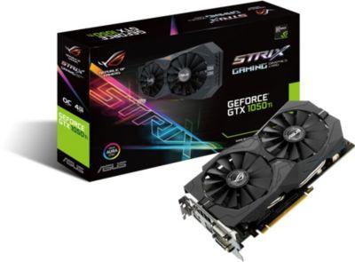 Carte graphique Nvidia Asus STRIX-GTX1050TI-O4G