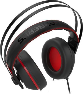Casque Gamer asus cerberus v2 rouge