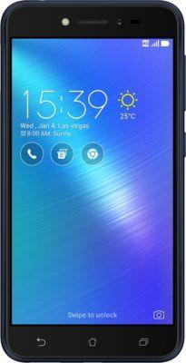 Smartphone Asus Zenfone Live ZB501KL Bleu + Coque + Protège écran Ibroz Zenfone Live ZB501KL+PE