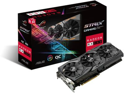 Carte graphique AMD Asus STRIX RX580 O8G GAMING