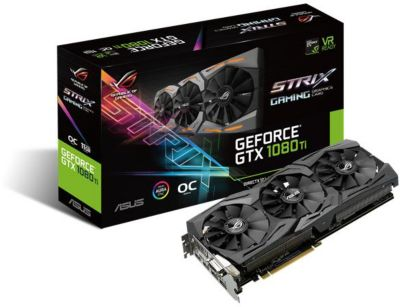 Carte graphique Nvidia Asus GeForce GTX 1080 Ti ROG STRIX O 11 Go