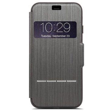 moshi iphone 7 8 sensecover noir accessoire iphone. Black Bedroom Furniture Sets. Home Design Ideas