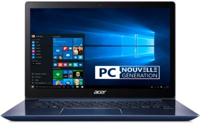 Ordinateur Portable acer swift sf314-54-56m5 bleu