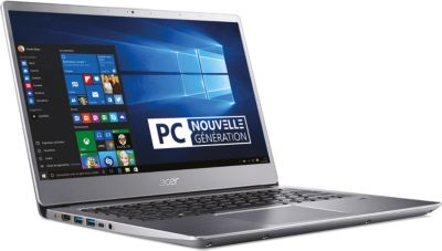 Ordinateur Portable acer swift sf314-54-31 gris