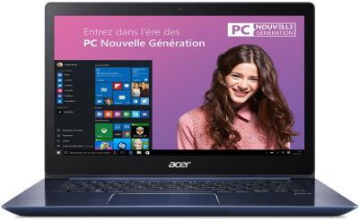 Ordinateur Portable acer swift sf314-54 bleu