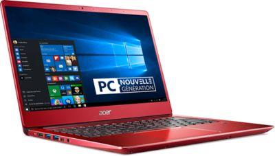 Ordinateur portable Acer swift SF314-54-35 rouge