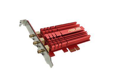 Carte ASUS PCIE AC68 WIFI Double bande AC1900