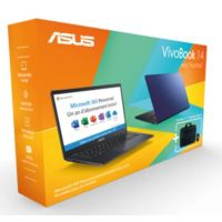 Ordinateur portable ASUS Pack E410MA-EK028TS office365+souris+sac