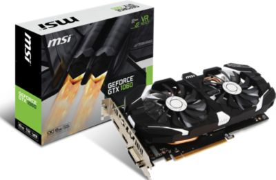 Carte graphique Nvidia MSI GeForce GTX1060 6GT