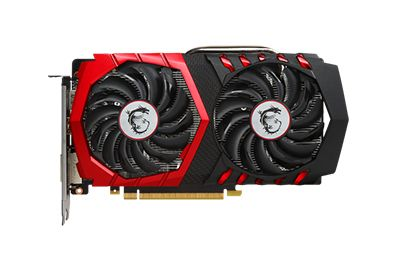 Carte MSI GeForce GTX 1050 TI GAMING X4G