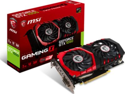 Carte graphique Nvidia MSI GeForce GTX 1050 GAMING X 2G