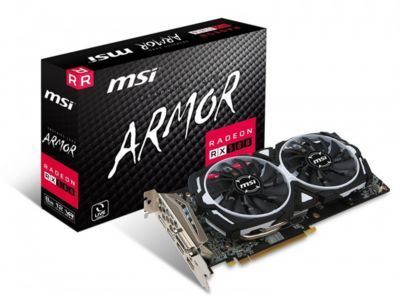 Carte graphique AMD MSI RX 580 ARMOR 8G OC