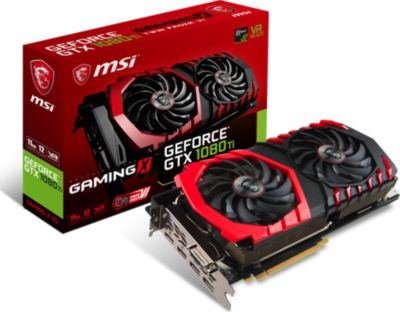 Carte graphique Nvidia MSI GeForce GTX 1080 Ti GAMING 11G