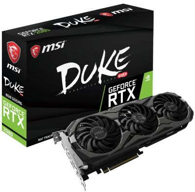 Carte graphique Nvidia MSI GeForce RTX 2080 Duke 8G OC