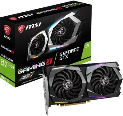 Carte graphique Nvidia MSI GTX 1660 Ti Gaming X 6G