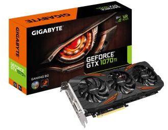 Carte graphique Gigabyte GTX1070TI Gaming 8Go
