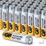 Pile GP Piles Alcalines LR3 AAA x32
