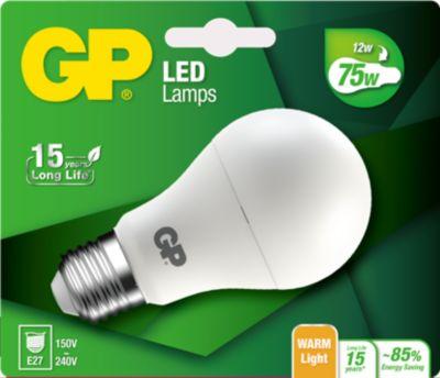 Ampoule GP LED CLASSIC E27 12W-75W