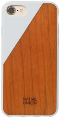 Coque Native union coque clic wooden blanc iphone 7