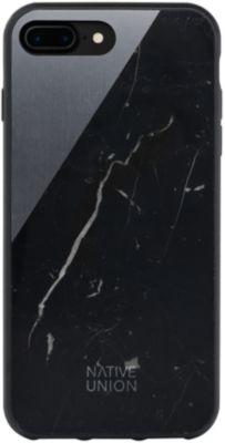 Coque Native union coque clic marbre noir/gris iphone 7/8+