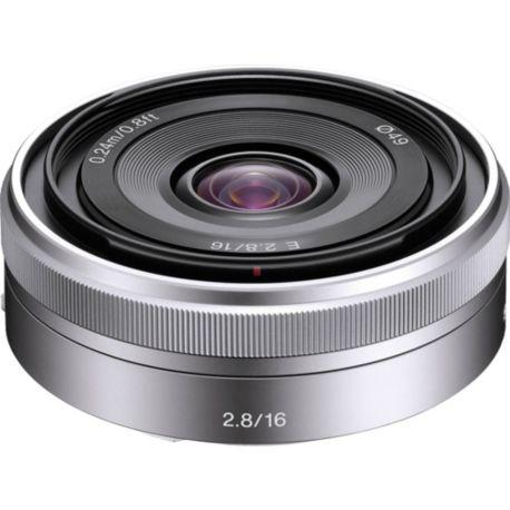 Objectif SONY E 16mm f/2.8 SEL