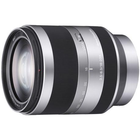 Objectif SONY SEL E 18-200mm f3.5-6.3 Silver