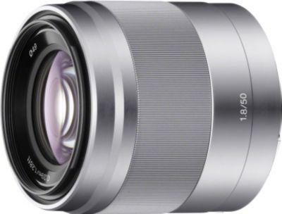 Objectif pour Hybride Sony SEL 50mm f1.8 OSS silver